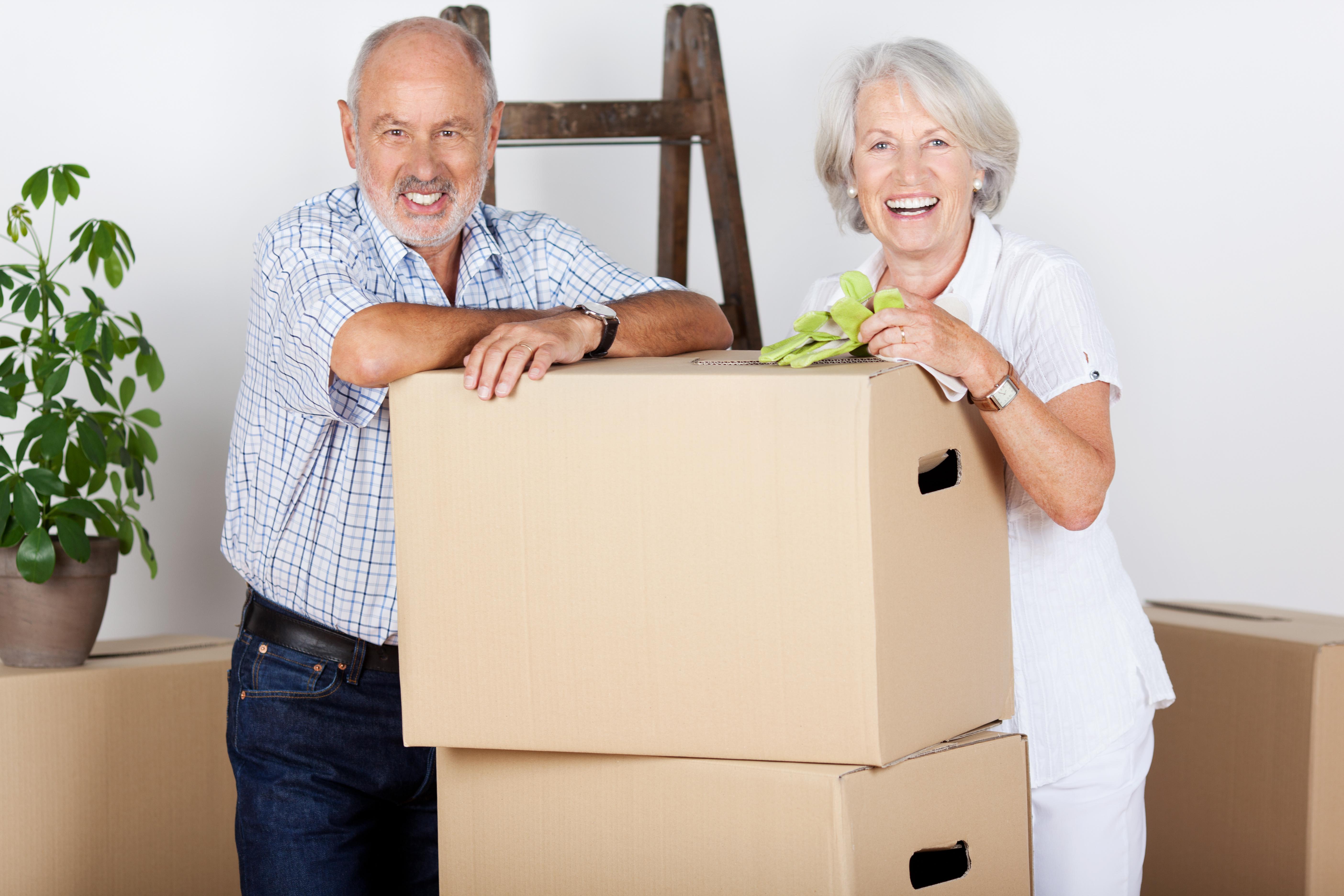 Déménagement pour personnes âgées à Montréal